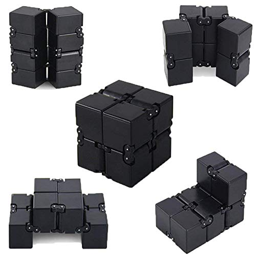 - Infinity Cube Black Toys Gadgets for Men Gadgets Infinite Fidget Cube Cool Gadgets Fidget Toys for Adults Cool Toys Desk Toys Cool Gadgets for Men Gadget Leg Weights for Women Fidget