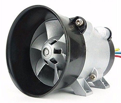 Cargador turbo eléctrico universal para coche, ventilador de entrada de aire Tan Boost 12 V 16,5 A: Amazon.es: Coche y moto
