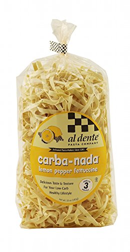Al Dente Carba-Nada Lemon Pepper Fettuccine 10-ounce - Mall Al