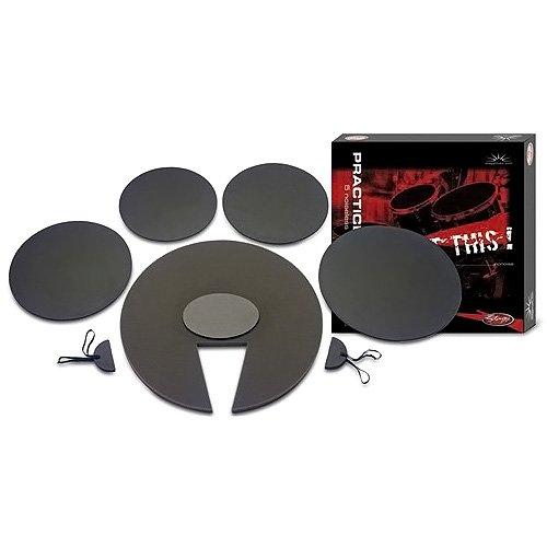 Übungspad-Set für Schlagzeug 22'/ 12'/ 13'/ 16'/14' Snare, DF1222 SET