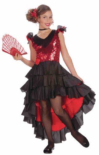 Forum Novelties Spanish Dancer Costume, Large - Halloween Costumes Dancer