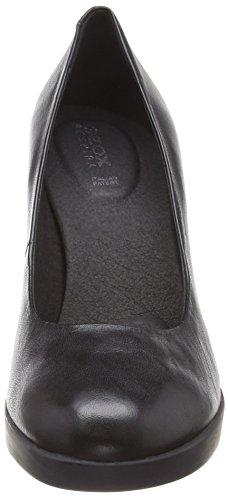 Donna A Scarpe C9999 con Geox Nero D Annya Black Tacco High Wq7Op0Ow