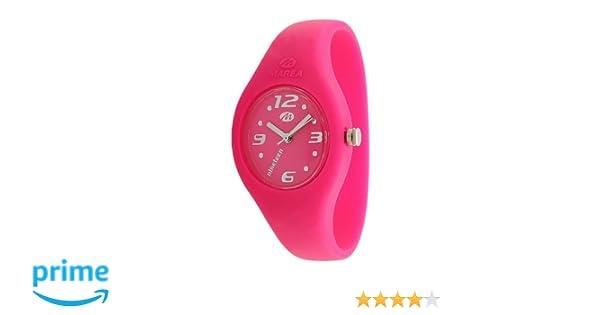 Marea nineteen - Reloj analógico de mujer de cuarzo con correa de silicona - sumergible a 50 metros: Amazon.es: Relojes