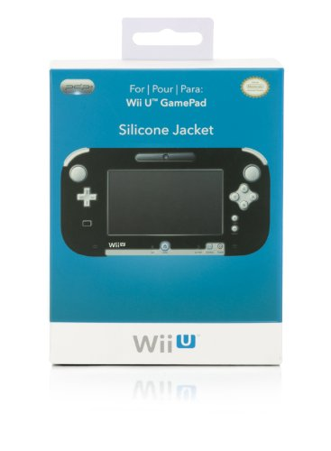 Wii U Gamepad Silicone Jacket - Black