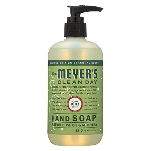 (MRS. MEYER'S HAND SOAP,LIQ,IOWA PINE, 12.5 FZ, 6 PACK)