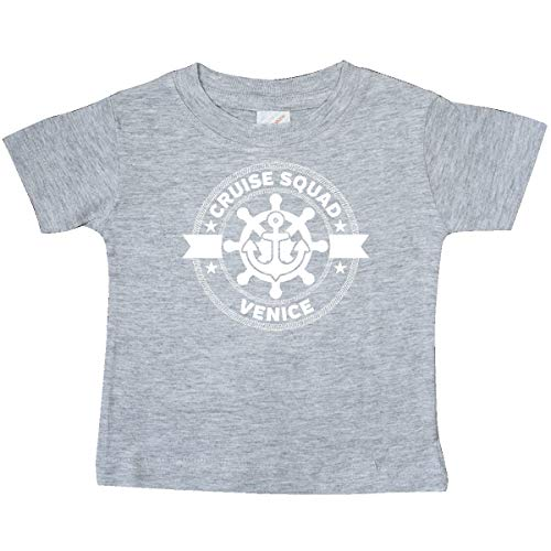 inktastic Venice Italy Cruise Vacation Baby T-Shirt 6 Months Heather Grey