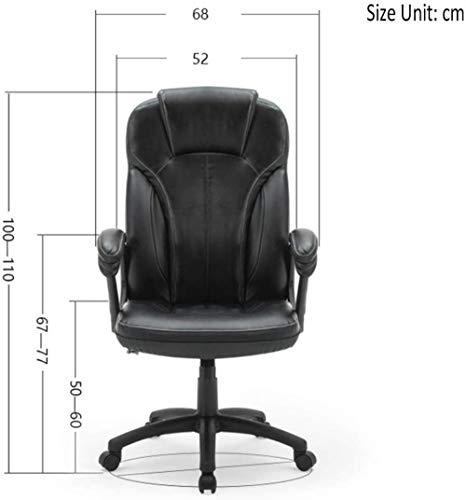 Barstolar THBEIBEI kontorsstol svängbar stol spelstol datorstol uppgift skrivbord stol hem stol ergonomisk design halkfri kudde bärkapacitet 300 kg svart