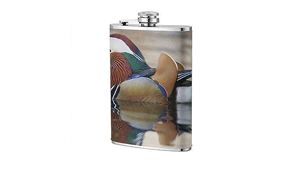 Frasco de pato mandarín XBYC para frasco de licor y embudo de ...