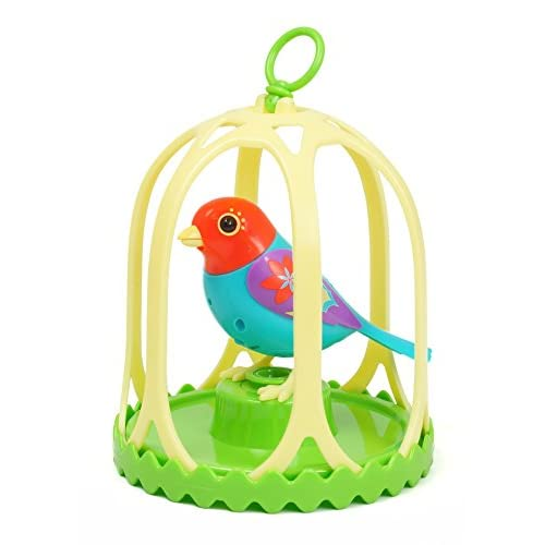 Silverlit DigiBird with Whistle Ring and Birdcage Flora by SilverLit