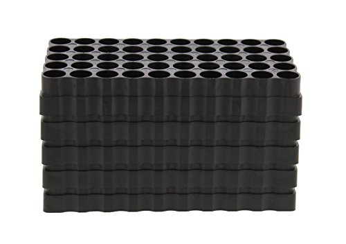 Review Large Caliber 50 Round Universal Reloading Ammo Tray Loading Blocks 5-Pack