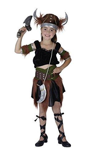Bristol Novelty Viking Girl Costume (L) Childs Age 7 - 9 Years ()