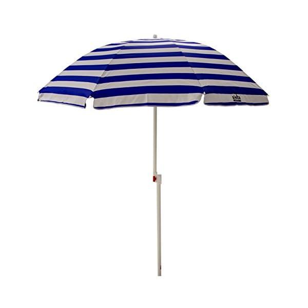 Shelta Australia Shelta Noosa - Ombrello da spiaggia, a righe, colore: Blu e Bianco 4 spesavip