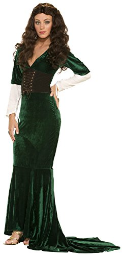 Buy green medieval dress - 6