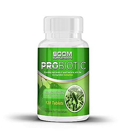 Probióticos | 10 mil millones de UFC | 120 comprimidos | Suplemento nº 1 en pribióticos y enzimas digestivas | Potentes probioticos para hombres y ...