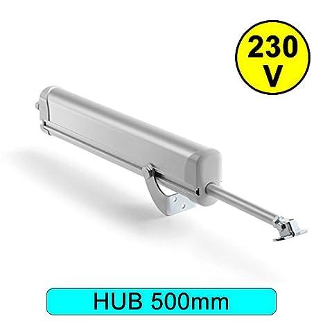 Made in Italy ! Hub 300mm NEU---Elektrischer Fensteröffner Spindelantrieb