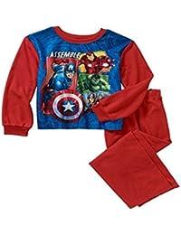 Marvel Avengers Boys Size 14-16 Flannel Super Hero Pajama Set