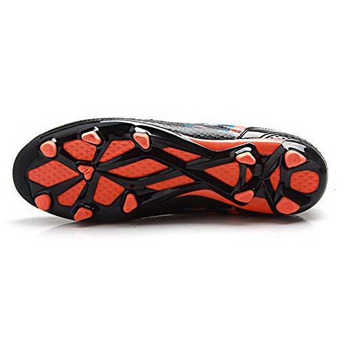 Grapas Adolescentes Fútbol Guay Zapatillas Adultos Negro Tiebao Zapatos Cordón De nHat5Y
