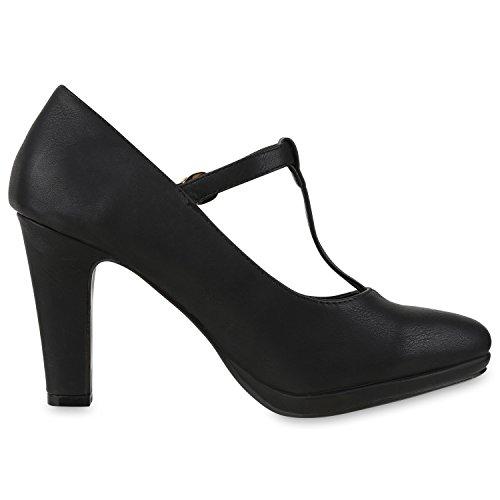 napoli-fashion - Cerrado Mujer Schwarz Nero