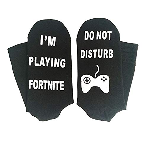Valentoria Black Deals Friday Sales Deals-Do Not Disturb Im Playing Fortnite Funny Sock: Amazon.es: Productos para mascotas