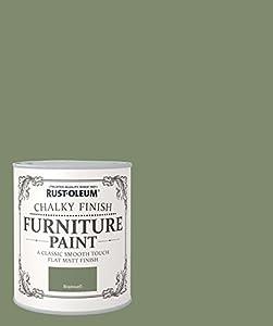 Rust Oleum Chalky Finish Furniture Paint Bramwell 125ml Diy Tools