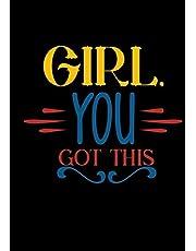 Girl You Got This: Chronic Pain Diary/Illness Symptom Tracker and Journal