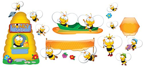 Carson Dellosa Buzz-Worthy Bees Bulletin Board Set (110280)