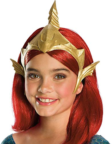 Rubie's Girls Aquaman Movie Deluxe Mera Tiara Costume Headwear