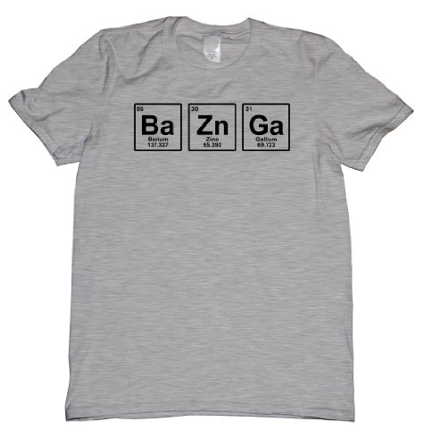 Bazinga Chemical Element Big Bang Sheldon