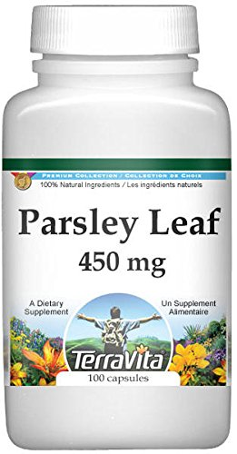 Parsley Leaf - 450 mg (100 Capsules, ZIN: 511919)