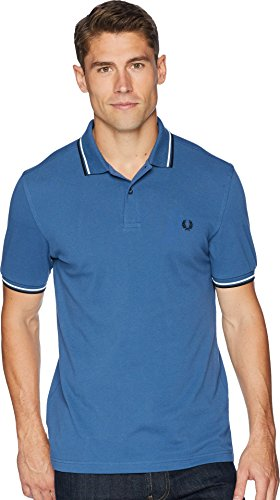 Fred Perry Men's Twin Tipped Shirt, Midnight Blue, ()