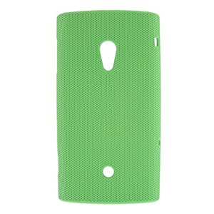 Net Pattern PC Plastic Protective Case for Sony Ericsson Xperia X10 (Optional Colors) --- COLOR:Blue