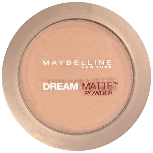 Maybelline New York Dream Matte Poudre, miel, Medium 3-4, 0,32 once