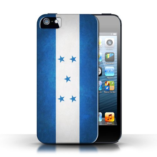 Etui / Coque pour Apple iPhone 5/5S / Honduras conception / Collection de Drapeau