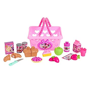 Minnie Bow Tique Bowtastic Shopping Basket Set, Pink 1