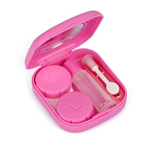 Kontaktlinsenbehälter Winrembrandt Mini Travel Case Tasche-Größe