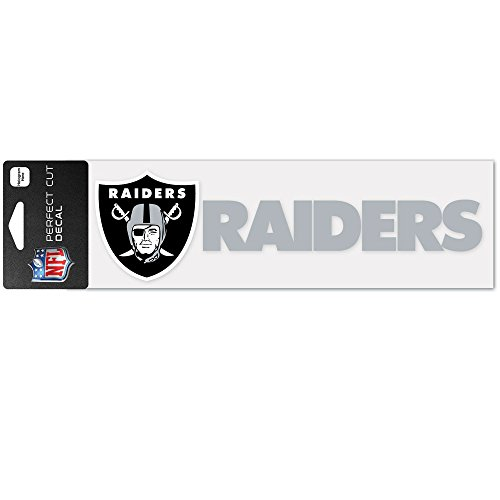 (WinCraft NFL Oakland Raiders WCR49137014 Perfect Cut Decals, 3