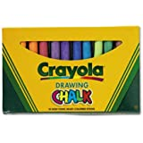 BIN510403 - Crayola Colored Drawing Chalk