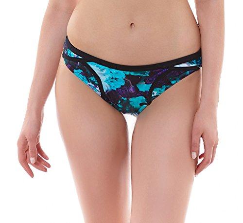 Freya Atlantis Classic Bikini Swim Bottom, M, Lagoon