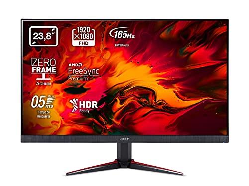 Acer-Nitro-VG240YS-Monitor-Gaming-de-24-Full-HD-165-Hz-61-cm-1920x1080-Pantalla-IPS-LED-ZeroFrame-y-FreeSync-250-nits-Tiempo-de-Respuesta-2ms-2xHDMI-Color-Negro