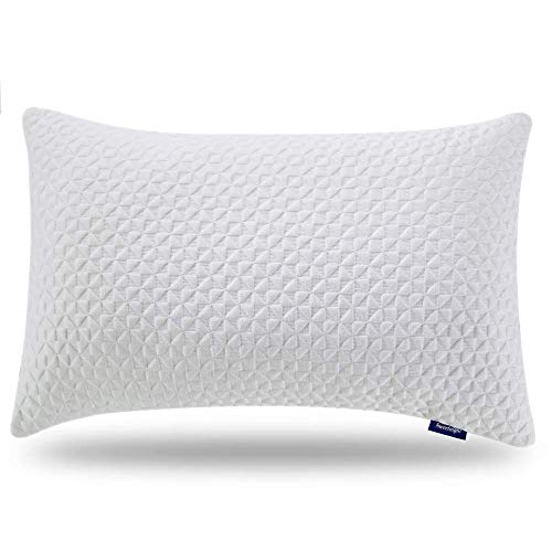 Sweetnight Pillows for Sleeping, Adjustable Loft & Neck Pain Relief-Shredded Hypoallergenic Certipur Gel Memory Foam Pillow with Removable Case,Bed Pillows for Side Back Stomach Sleeper, King Size