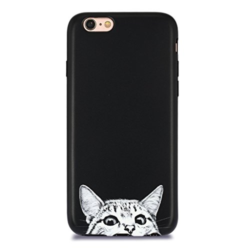 iPhone 6S Case for Girls/iPhone 6 Cute Cat Case, GOLINK Cute Slim-Fit Ultra-Thin Anti-Scratch Shock Proof Dust Proof Anti-Finger Print TPU Case for iPhone 6/6S - Cat