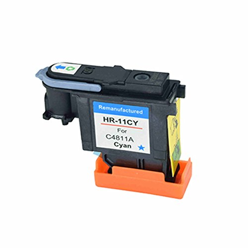 C-dling Compatible HP11 Cyan Printhead C4811A for HP Designjet 70 90 100 110 500 510 500ps 800ps 9110 K850