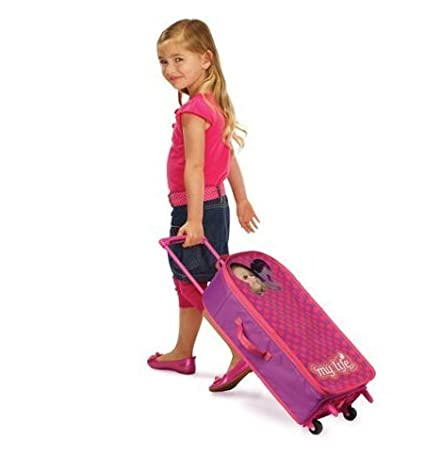 1c29491a1ed Buy My Life As Girl Baby Doll Carrier Rolling Luggage Online at Low Prices  in India - Amazon.in