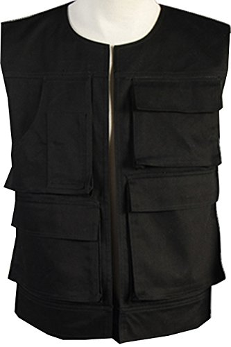 CosplaySky Star Wars Costume ANH A New Hope Han Solo Vest X-Small (Han Solo Costume Shirt)