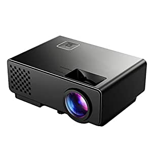 Victsing new version lcd movie projector mini for Hd projector amazon