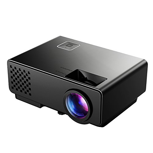 Victsing new version lcd movie projector mini portable hd for Mini portable video projector