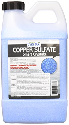 Copper Sulfate Pentahydrate Crystals - Root Killer/Destroyer - 25