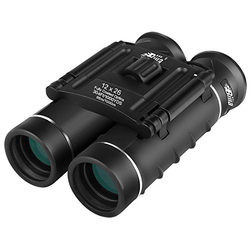 G4Free 12x26 Mini Binoculars HD BAK4 Clear Optical Lens,Ultr