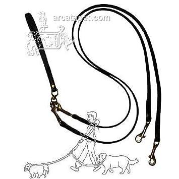 Amazon Com Pet Walker Plus Black Leather 2 Dog Leash Small Pet
