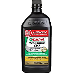 Castrol 06811-6PK Transmax ATF Black CVT Transmission Fluid - 1 Quart, (Pack of 6)